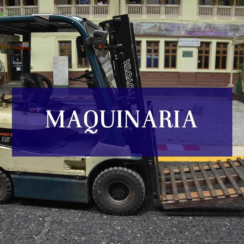 CURSOS MAQUINARIA